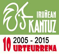 Iruñean Kantuz 10 Urteurrena web