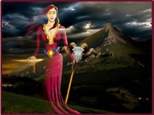 la diosa mari