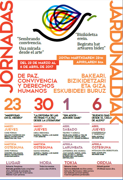 Jornadas Paz y Covicencia 2017