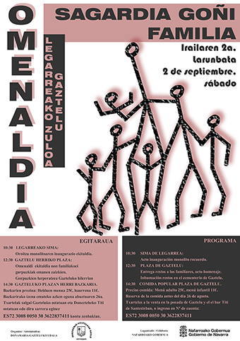 Omenaldia Sagardia Goñi Familia