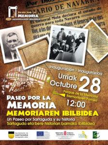 Inauguracion del Paseopor la Memoria