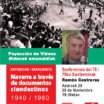 Cartel Conferencia-Vídeo Sanfermines 78