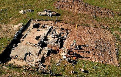 Excavaciones en Orreaga