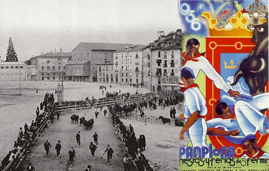 San Fermínes 1936