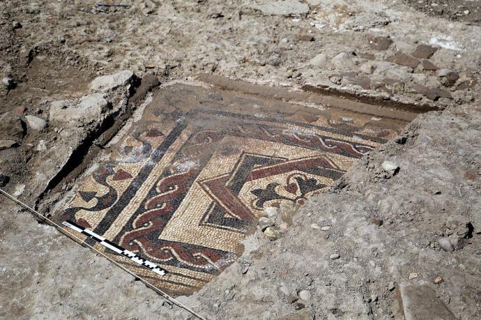 Mosaicos romanos en Azkoien